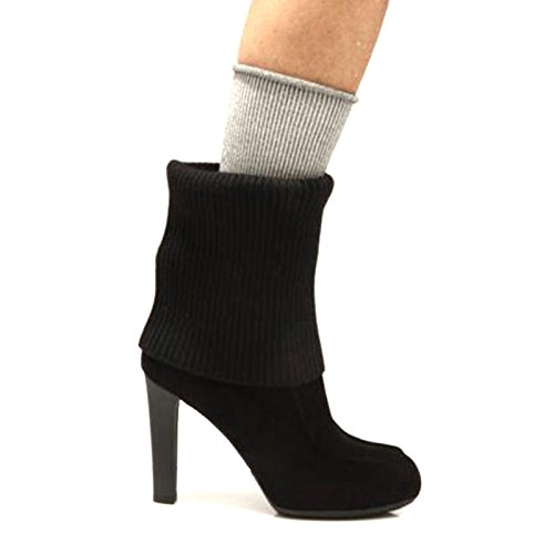 62250 stivale donna HOGAN lana pelle scarpe stivali boots shoes women