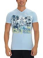 GALVANNI Camiseta Manga Corta Ruth (Azul Bebé)