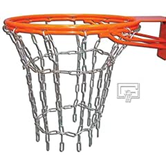 Buy Gared Welded Steel Chain Basketball Net for Double Ring Goals by Gared
