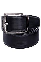 VISACH Men's Reversible Leatherite Belt Liner pin 40