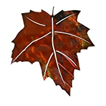 3D Maple Leaf Metal Outdoor Wall Art