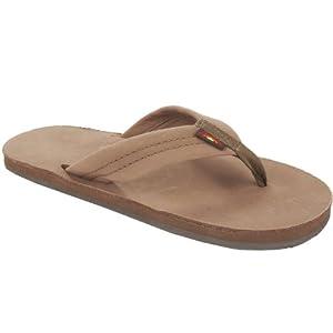 Rainbow Sandals JUNIOR RAINBOW Dark Brown Leather Sandals 2 M US Little Kid