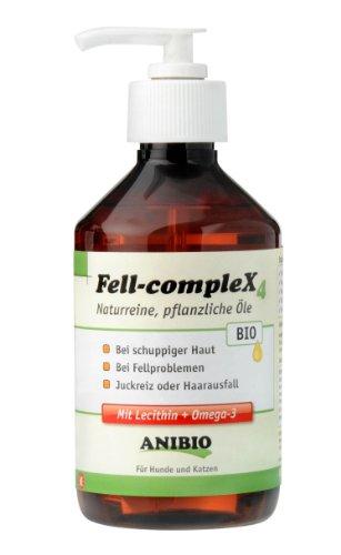 Artikelbild: Anibio Fell-Complex 300 ml Ergänzungsfutter für Hunde und Katzen, 1er Pack (1 x 0.3 l)