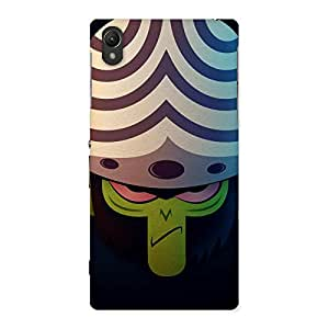 Stylish Joj Multicolor Back Case Cover for Sony Xperia Z1