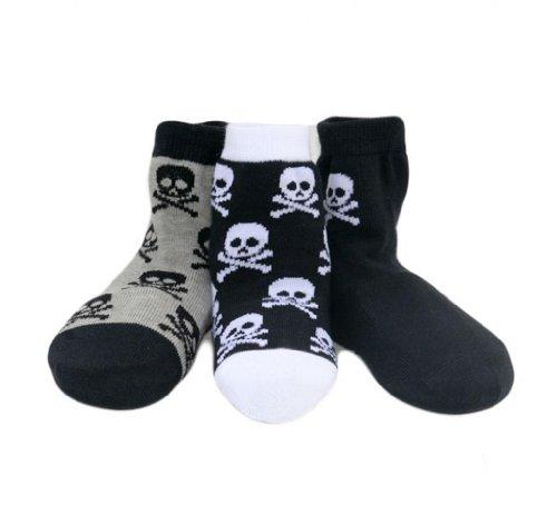 Born To Love Baby Boy S Organic Cotton Skull Sock Set