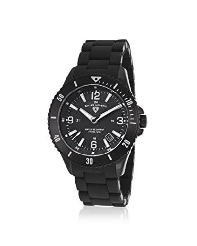 Swiss Legend Men's 93608-BB-11 Luminoso Analog Display Swiss Quartz Black Watch