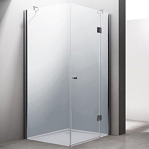 Falttur dusche glas nische ihr traumhaus ideen - Falttur glas zimmertur ...