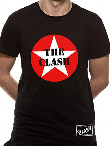 The Clash Star Logo T-shirt