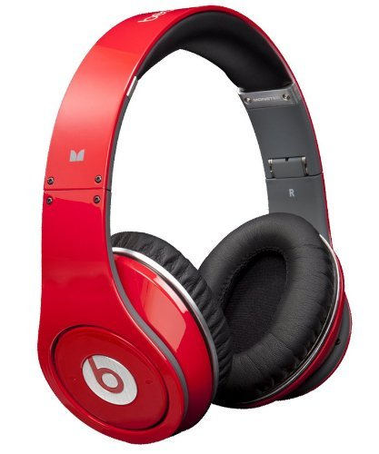 Beats Studio OverEar Headphone (Red)