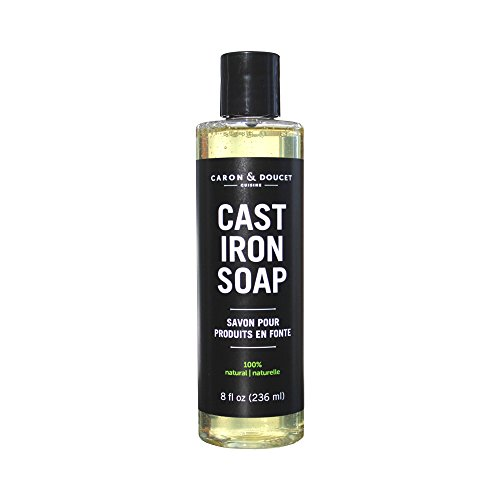 Caron & Doucet - Cast Iron Soap - 100% Plant Based Castile & Coconut Soap; No Detergents, No Surfactants, No Artificial Fragrance, No Synthetic Foaming Agents. Specially Formulated for Cast Iron.