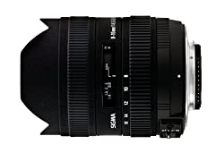 Sigma 8-16mm F/4.5-5.6 DC HSM Zoom Lens for Canon DSLR Camera