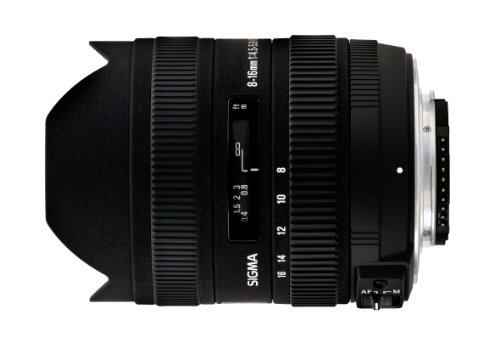 Sigma 8-16mm f4.5-5.6 DC Lens for Canon Digital SLR Cameras with APS-C Sensors