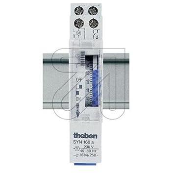 theben syn 160 a segment schaltuhr analog us85. Black Bedroom Furniture Sets. Home Design Ideas