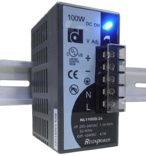 Reignpower Nl1100D-24 100W 24Vdc 4.2A Din Rail Power Supply