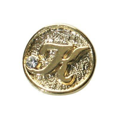 shu shu A187 カーブシリーズ イニシャルコイン/K