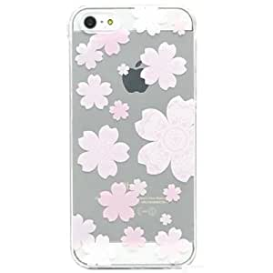 iPhone 6 Plus Case, SwiftBox Cute Cartoon Case for iPhone 6 Plus 5.5 inch + 0.3mm Tempered Glass Screen Protector + Owl Phone Strap (Baby Pink Cherry Blossom)