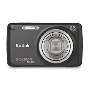 Kodak EasyShare Touch M577 14 MP Digital Camera with 5x Optical Zoom and 3-Inch LCD Touchscreen &#8211; Black