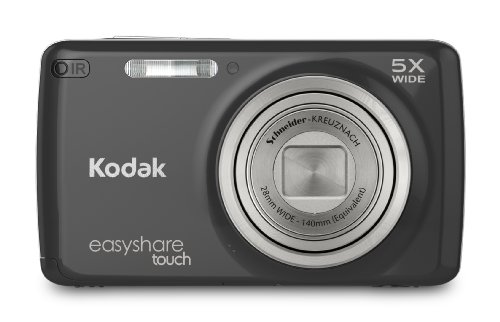 Kodak EasyShare Touch M577 14 MP Digital Camera with 5x Optical Zoom and 3-Inch LCD Touchscreen - Black (New Model)