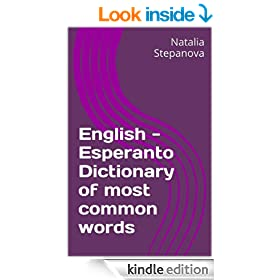 English - Esperanto Dictionary of most common words