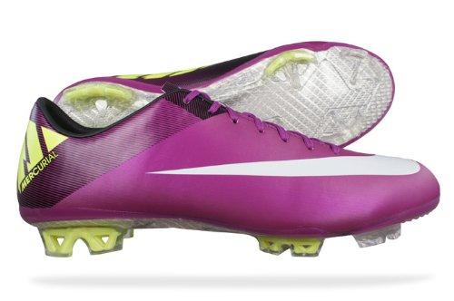 Details zu Fußballschuhe NIKE Mercurial pink lila grün weiss