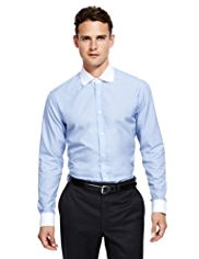 Autograph Luxury Pure Cotton Slim Fit Shirt