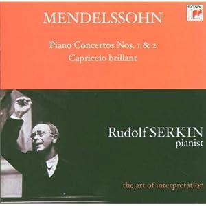 Mendelssohn: Piano Concertos Nos. 1 & 2 Capriccio