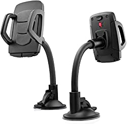 Cellphonez Imount Car Mount Holder With Secure Locking Mechanism For Mobile Phones.