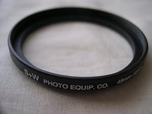 HeavyStar Dedicated Metal Stepup Ring 49mm-52mm