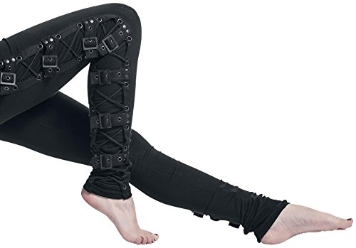 Gothicana by EMP Black Rock Leggings Leggings nero S