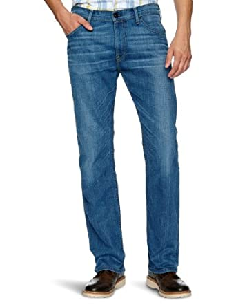 Levi's® - Jean - Homme Straight Fit - Bleu (M Hopeful Blue 0023) - FR : W29/L32 (Taille fabricant : W29/L32)