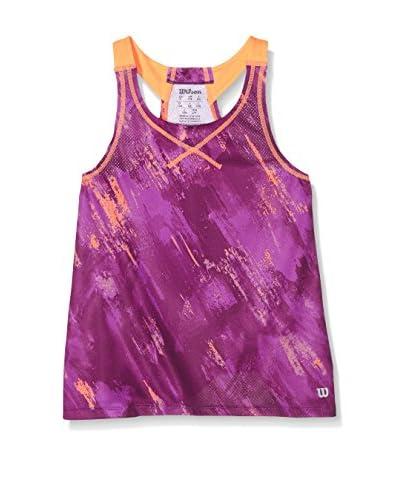 Wilson Top G Sp Painted Violeta / Naranja