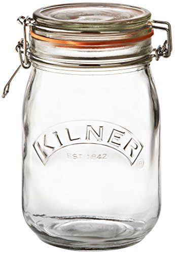 Kilner Round Clip Top Jar, 34-Fl Oz (Rubber Seal For Canister compare prices)