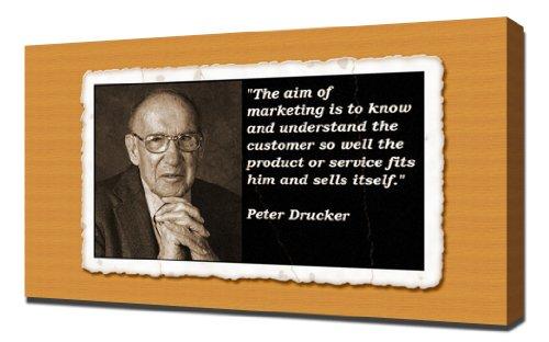 Peter-Drucker-Quotes-5-Leinwandbild-Kunstdrucke