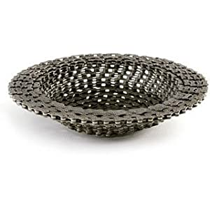 Resource Revival Recycled Bike Chain Bowl