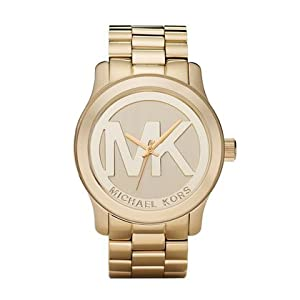 Michael Kors Quartz Gold-tone Bracelet Champagne Dial Ladies Watch MK5473