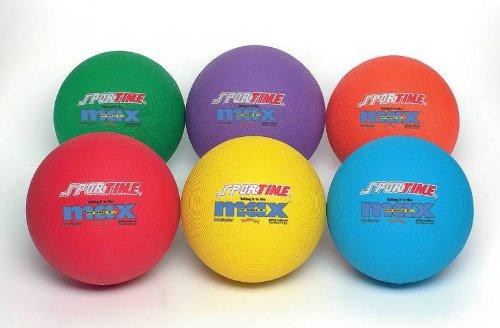 Sportimemax Flexmatrix Playground Balls - 8 1/2 Inch - Set Of 6 front-958369