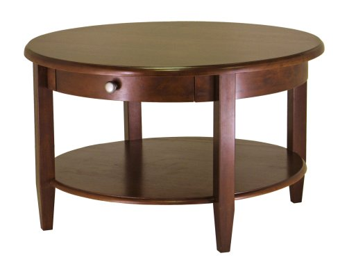 Discount Deals Winsome Wood Concord Round Coffee Table Shopping