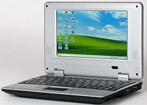 "7"" Mini Windows Netbook with Wifi (Black)"