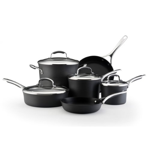 Kitchenaid Anodized Nonstick 10 Piece Cookware Cookwareset