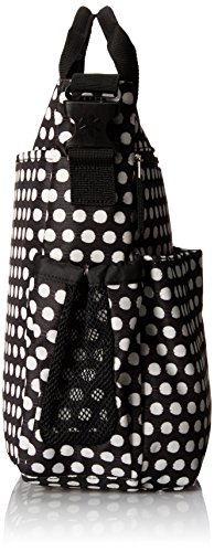 skip hop baby duo signature diaper bag connected dots black luggage bags bags. Black Bedroom Furniture Sets. Home Design Ideas