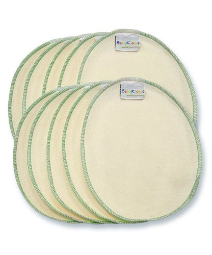 BabyKicks Hemparoo Washies Baby Wipes, Forest Green, One Size, 10-Count - 1