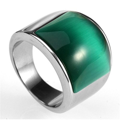 hijones-mens-stainless-steel-big-agate-stone-crystal-ring-silver-green-size-7