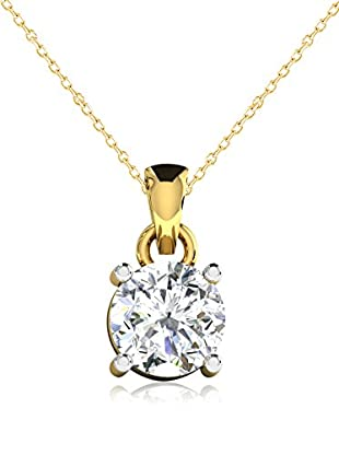 Friendly Diamonds Conjunto de cadena y colgante FDP6260Y Oro Amarillo