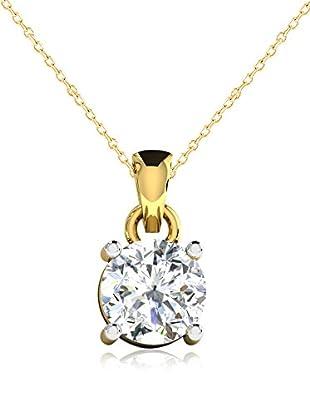 Friendly Diamonds Conjunto de cadena y colgante FDP6260Y Oro Amarillo