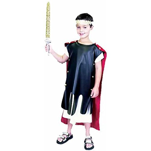 Child's Roman Gladiator Halloween Costume (Size: Small 6-8)