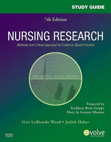 Study Guide for Nursing Research: Methods and Critical...