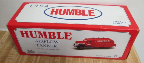 1994 Humble Airflow Tanker Coin Bank with working lights