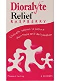 Dioralyte Relief Oral Rehydration Therapy - Raspberry Flavour - 6 Sachets