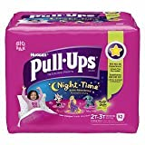 Huggies Pull-Ups Night-time Training Pants Biggie Pack Size 2T-3T Girl 52ct