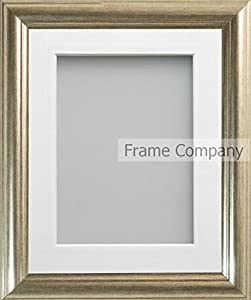 Frame Company Eldridge Silver Picture Photo Frames With Mount *Choice of Sizes*